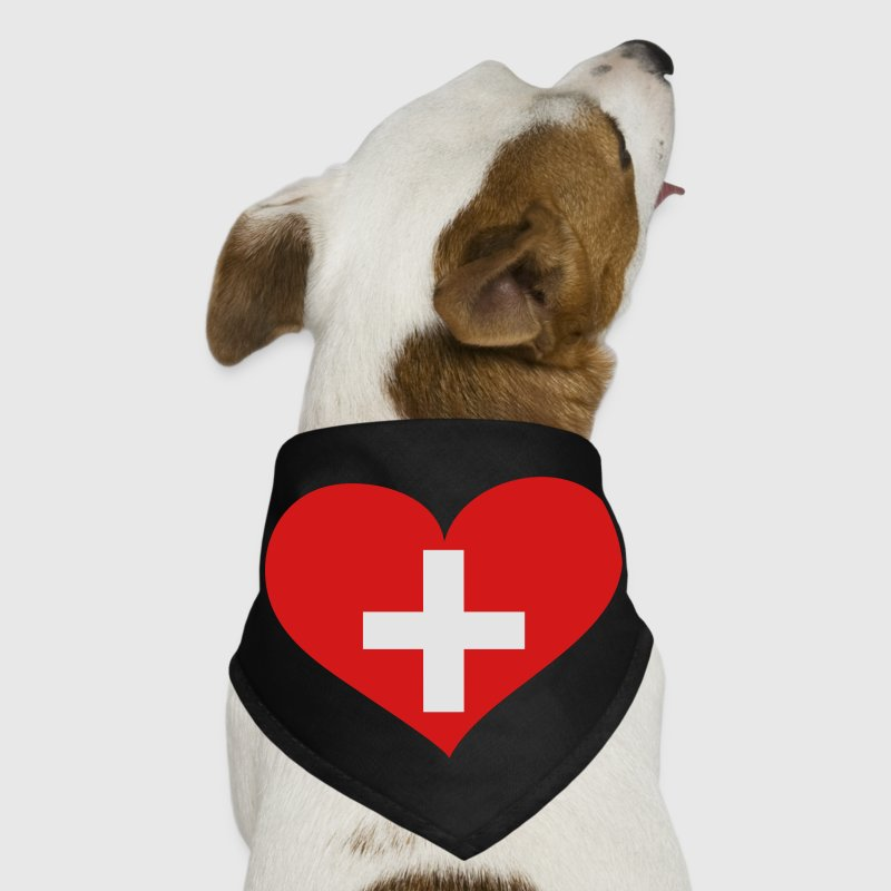 Switzerland Heart; Love Switzerland Other - Dog Bandana