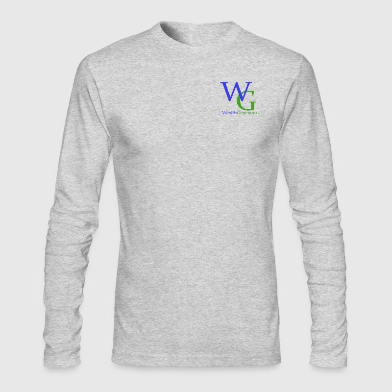 Wealth Generators - Men's Long Sleeve T-Shirt by Next Level