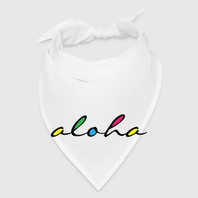 ALOHA colourful Mugs & Drinkware - Bandana