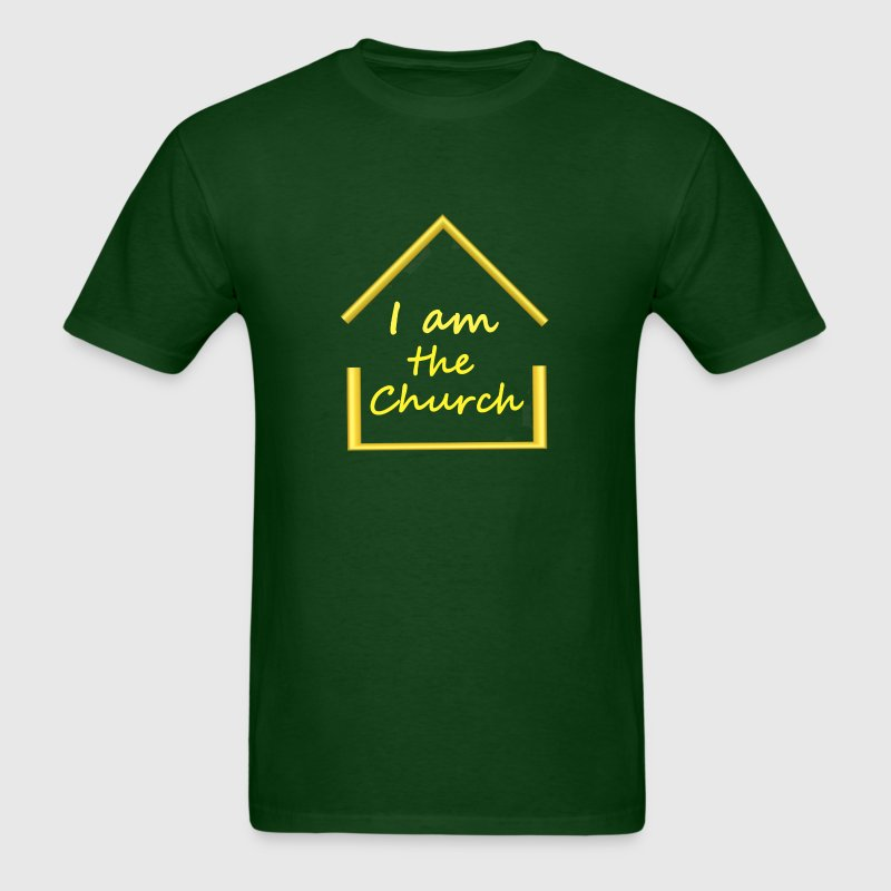 i am the church.png T-Shirts - Men's T-Shirt