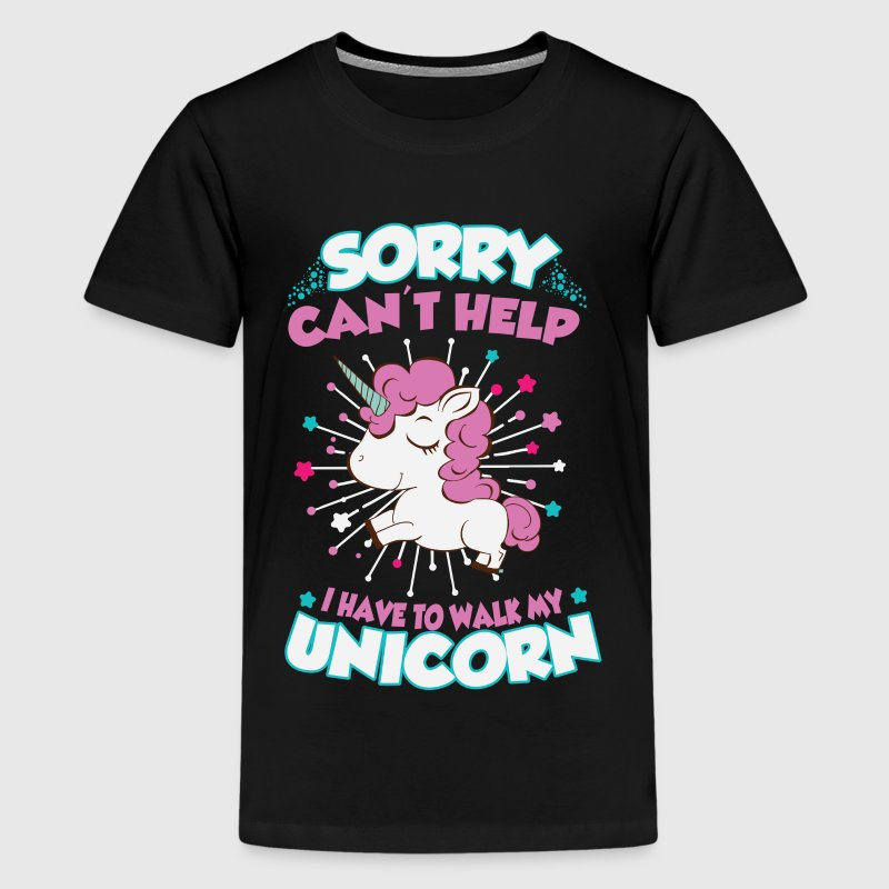 I have to walk my unicorn Kids' Shirts - Kids' Premium T-Shirt