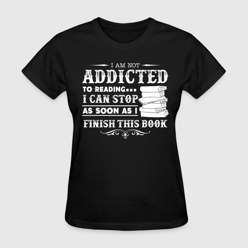 Book Ladies T-Shirt - Women's T-Shirt