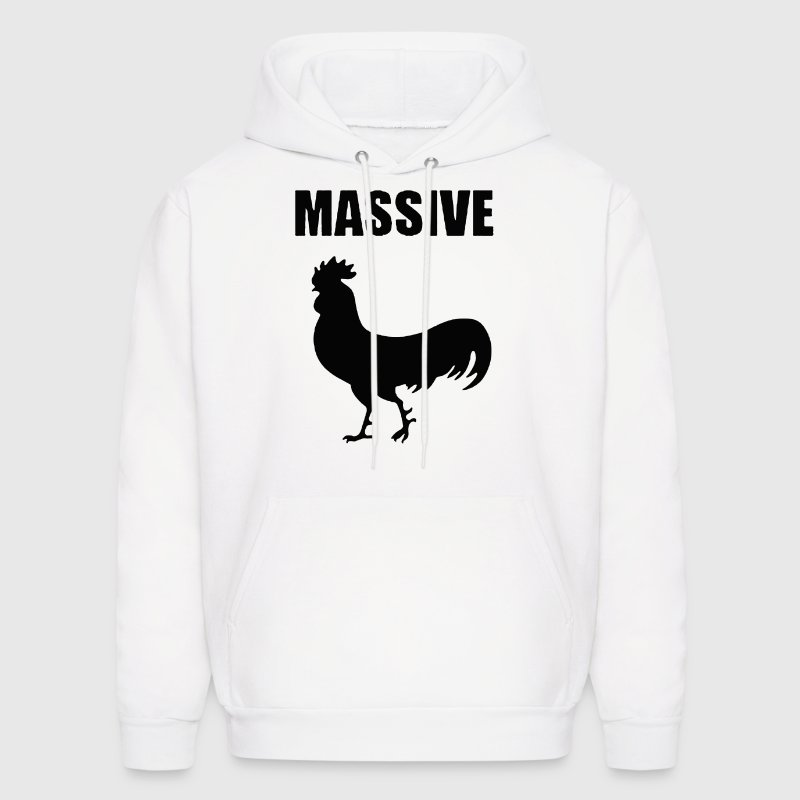 MASSIVE COCK COCKEREL - Men's Hoodie