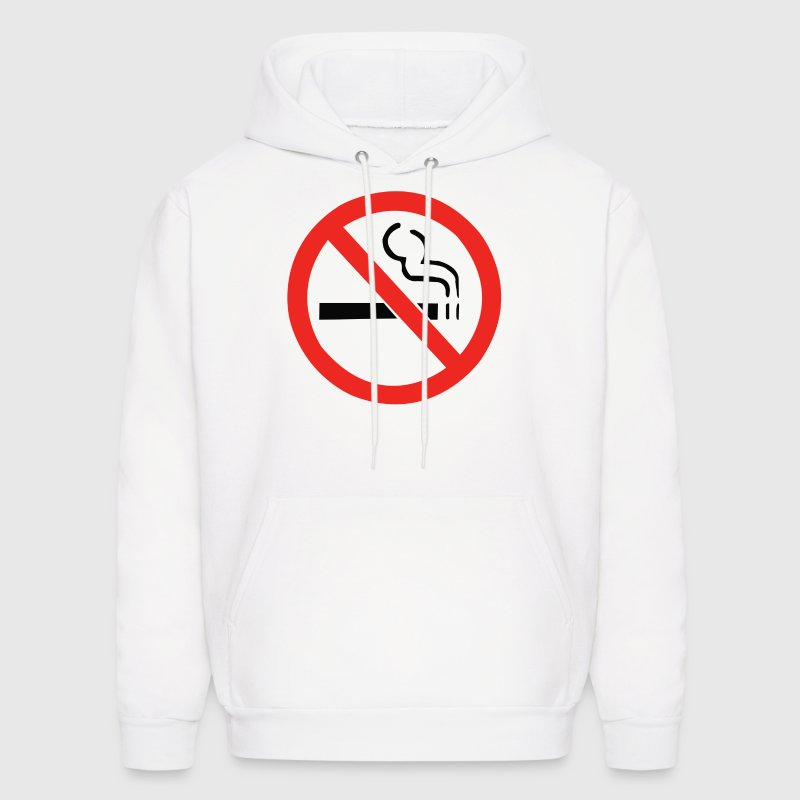 No Smoking Anti - Men's Hoodie