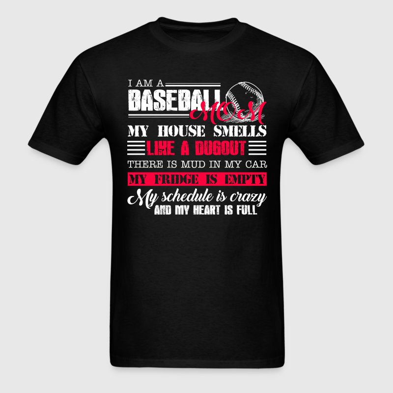 Baseball Mom Life - Men's T-Shirt