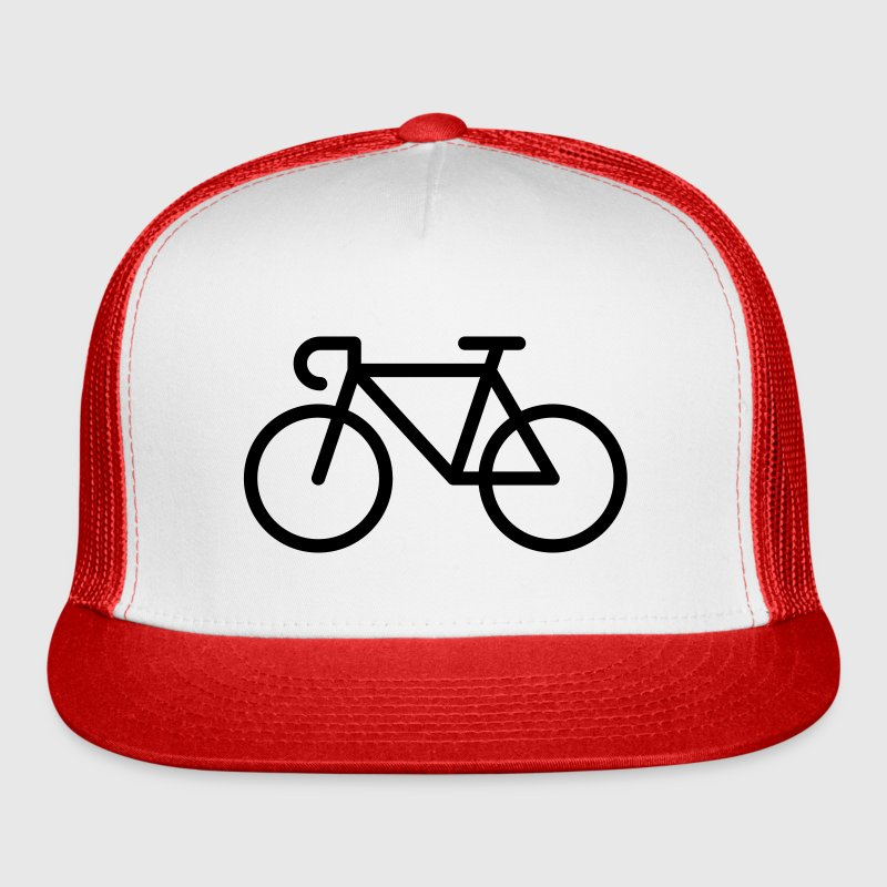 Racing Bicycle / Bike (Icon / Pictogram) Sportswear - Trucker Cap