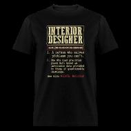 Interior Designer Badass Dictionary Term T Shirt T Shirts   Menu0027s T Shirt