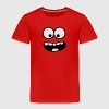 Funny Smiley Monster (Om Nom Nom) Face Baby & Toddler Shirts - Toddler Premium T-Shirt