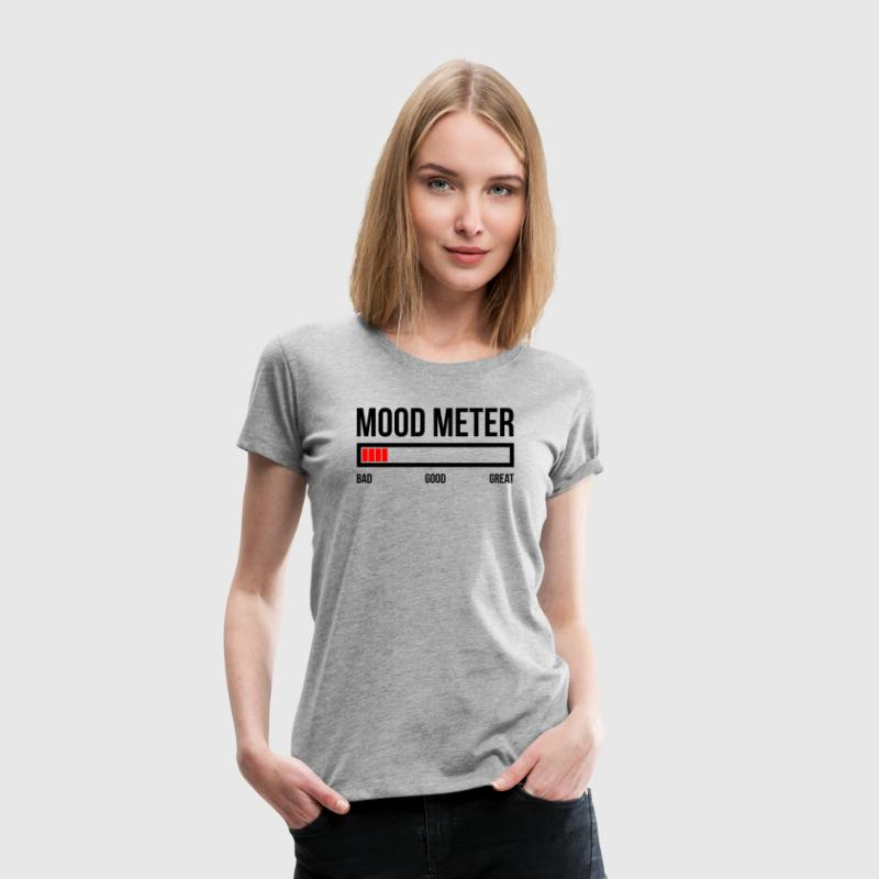 MOOD METER BAD MOOD T-Shirts - Women's Premium T-Shirt