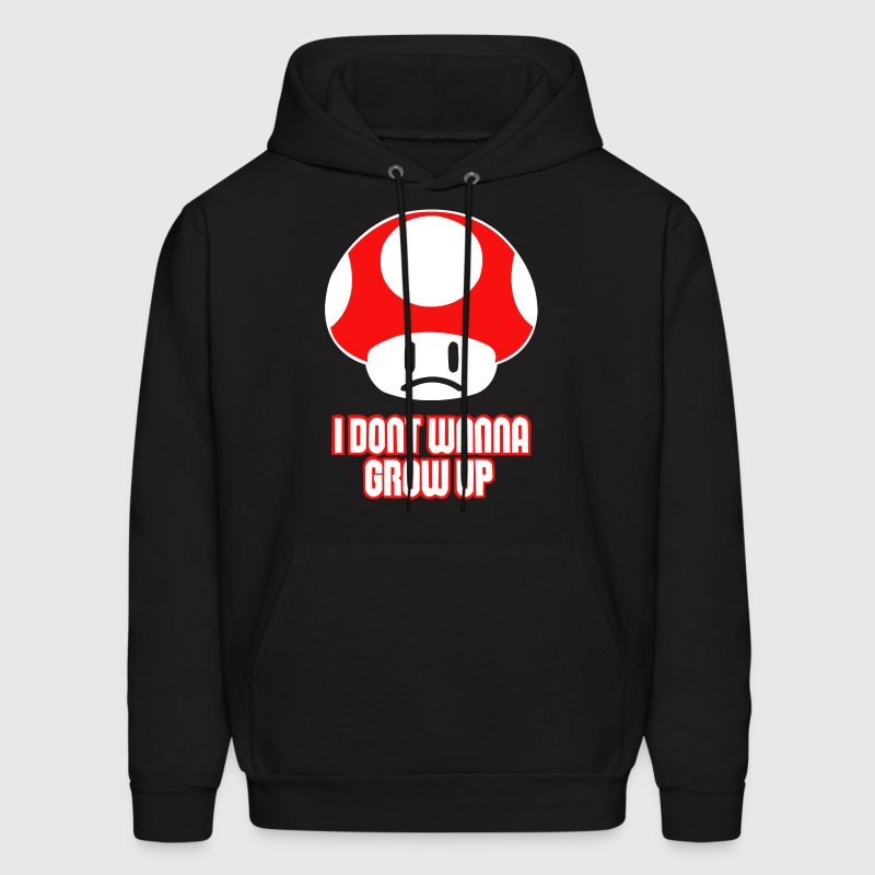 I Don't Wanna Grow Up - Men's Hoodie
