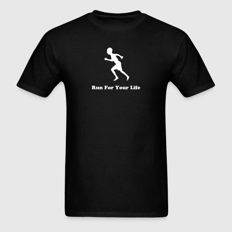 Run For Your Life - Men's T-Shirt