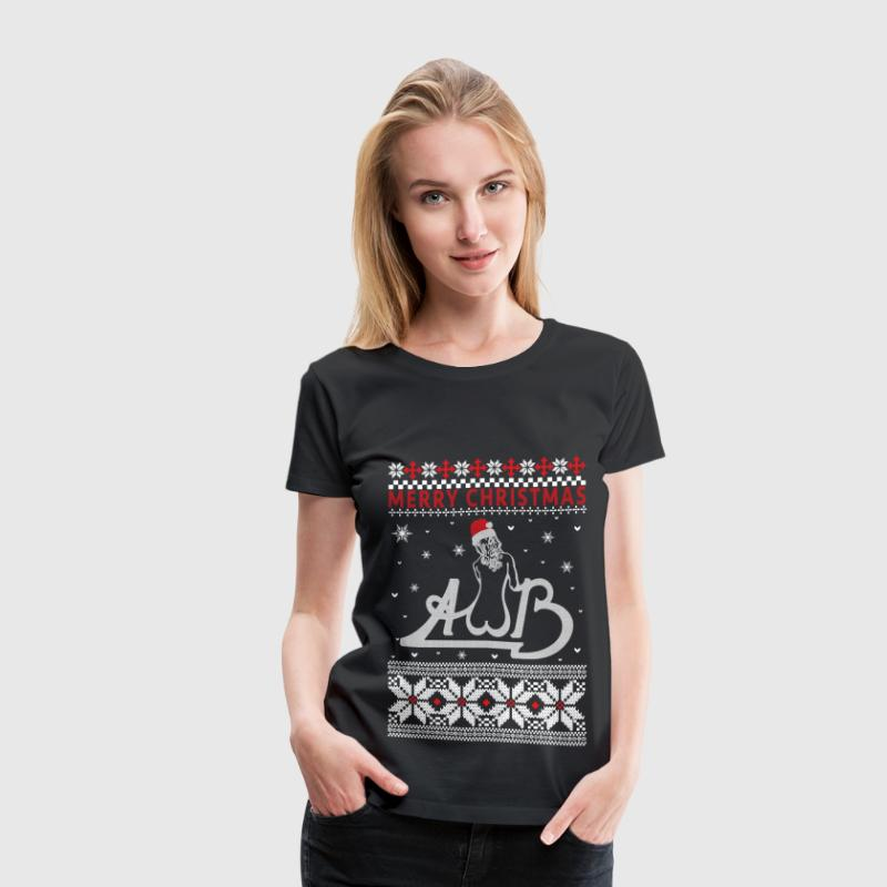 Average White Band - Ugly Christmas Sweater - Women's Premium T-Shirt