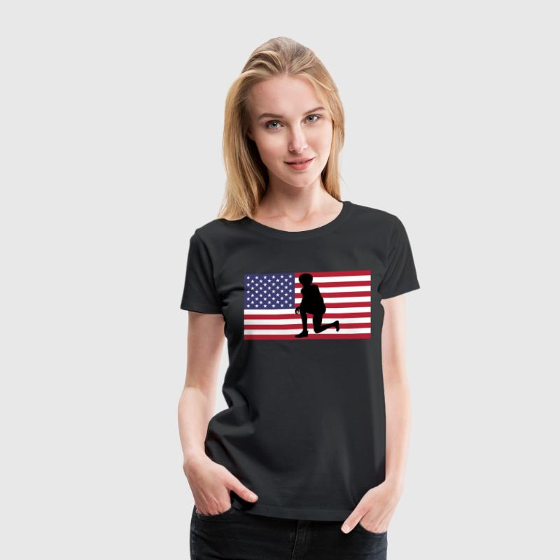 Kneel for Justice - Women's Premium T-Shirt