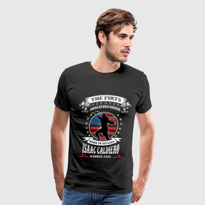 Isaac caldiero - The first american ninja warrior - Men's Premium T-Shirt