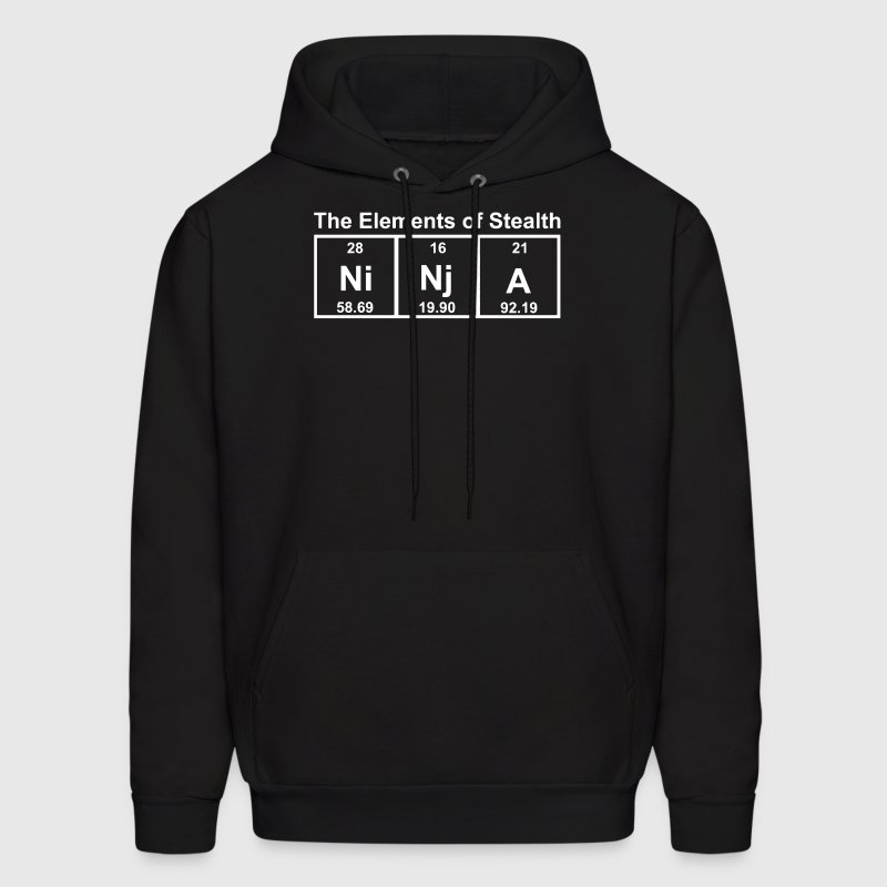 Ninja Elements of Stealth - Men's Hoodie