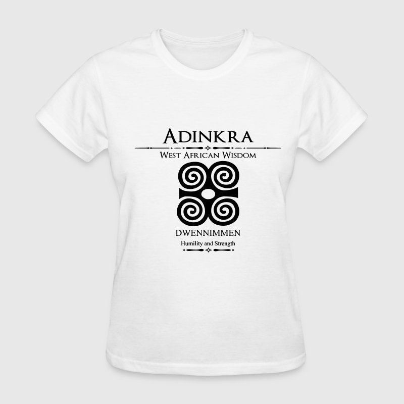 Adinkra-Humility and strength - Women's T-Shirt