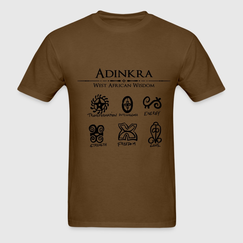 Adinkra-Symbols - Men's T-Shirt