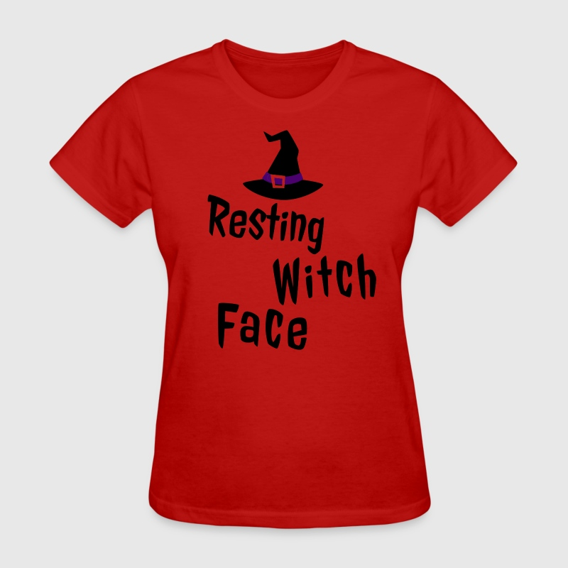 Resting Witch Face T-Shirts - Women's T-Shirt