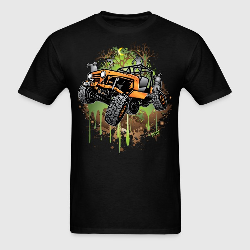Jeep Halloween Zombie T-Shirts - Men's T-Shirt