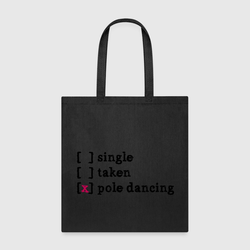 single taken pole dancing Bags & backpacks - Tote Bag
