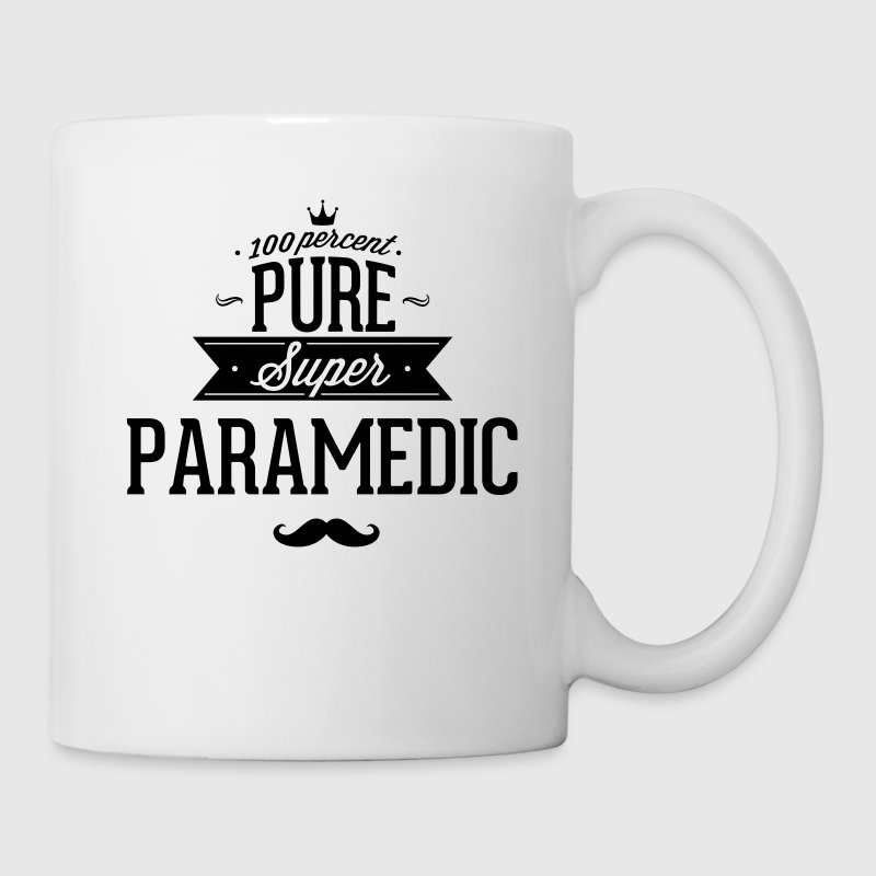 100 percent pure super paramedic Mugs & Drinkware - Coffee/Tea Mug