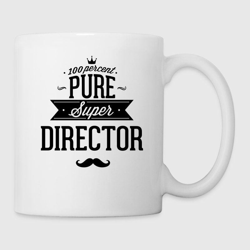 100 percent pure super director Mugs & Drinkware - Coffee/Tea Mug