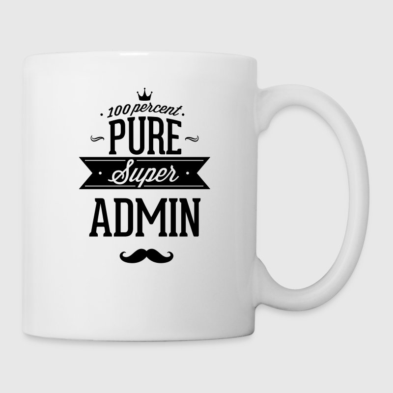 100 percent pure super admin Mugs & Drinkware - Coffee/Tea Mug