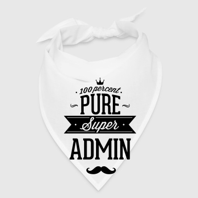 100 percent pure super admin Mugs & Drinkware - Bandana