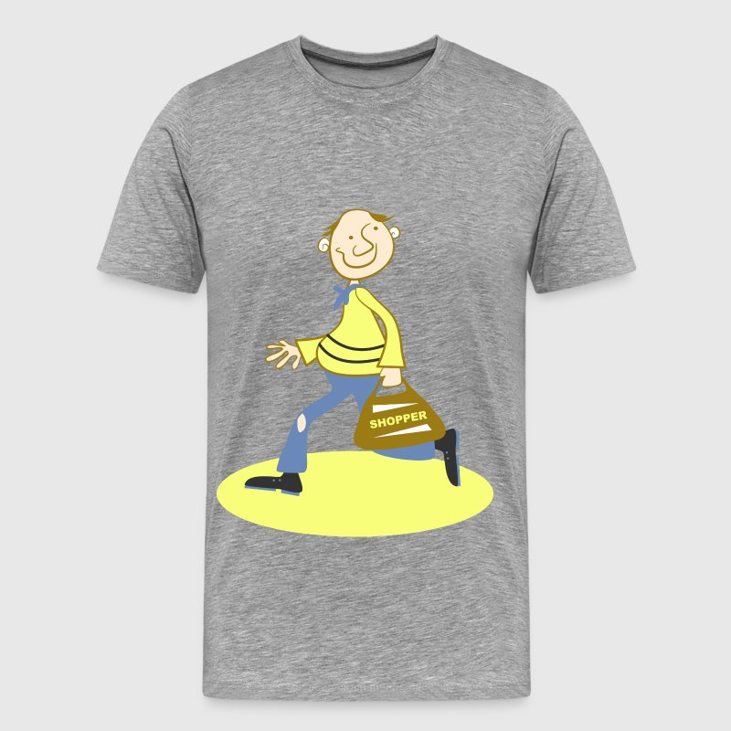 Happy Shopper - Men's Premium T-Shirt