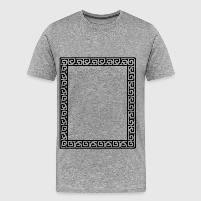 Greek key pattern 2 - Men's Premium T-Shirt