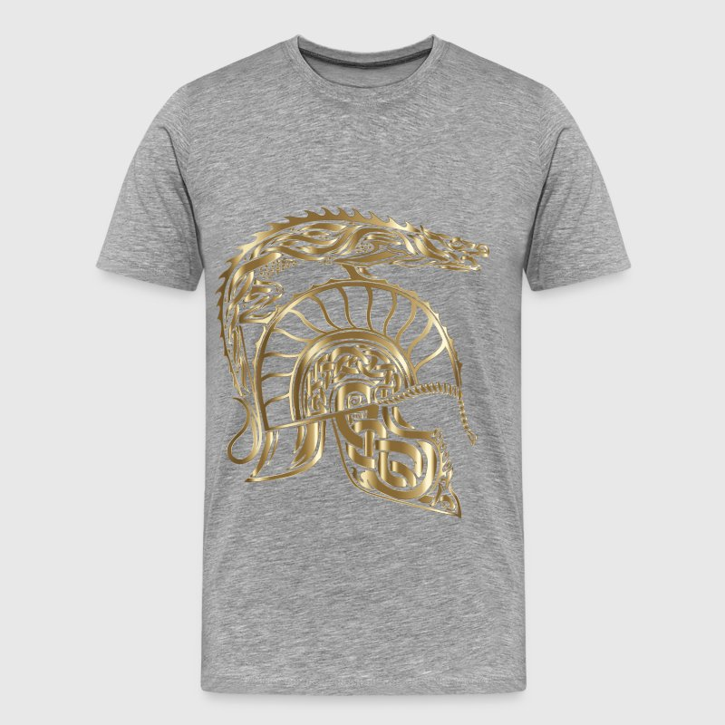 Children Of Hurin Dragon Helm Copper No Background - Men's Premium T-Shirt