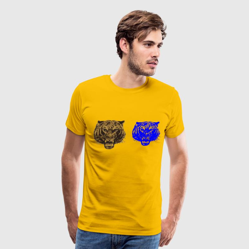 Tiger Tiger burning bright! - Men's Premium T-Shirt