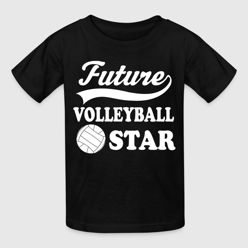 Volleyball Player Future Kids' Shirts - Kids' T-Shirt