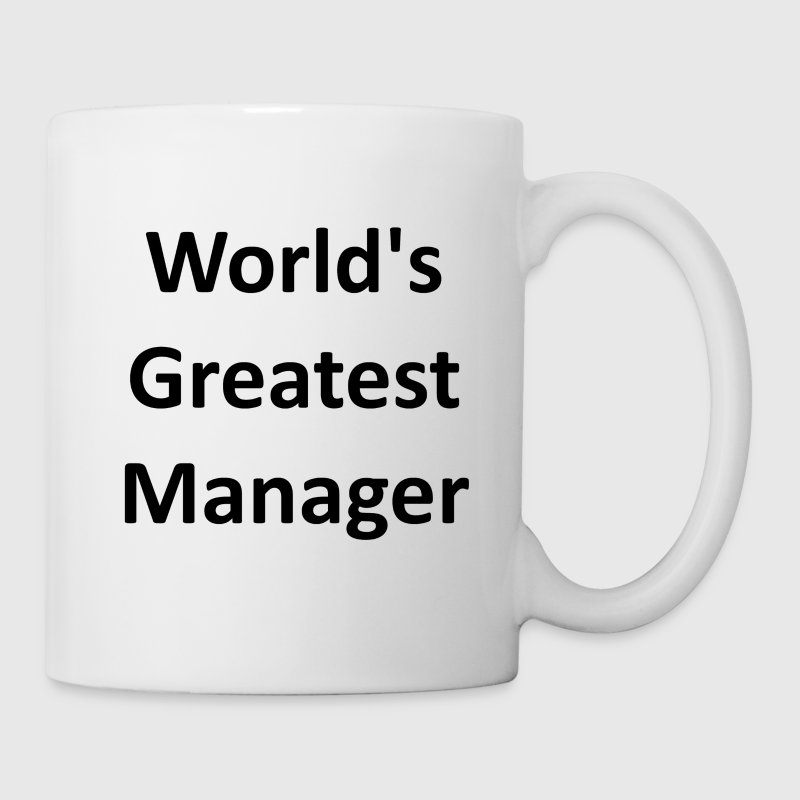 World's Greatest Manager - Coffee/Tea Mug