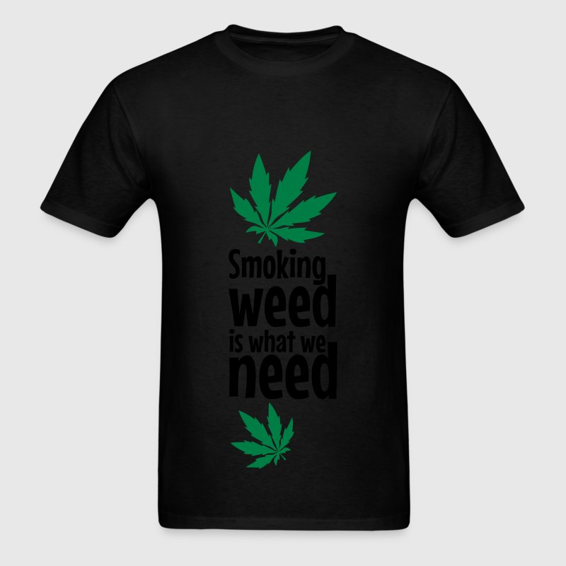 smoking weed T-Shirts - Men's T-Shirt