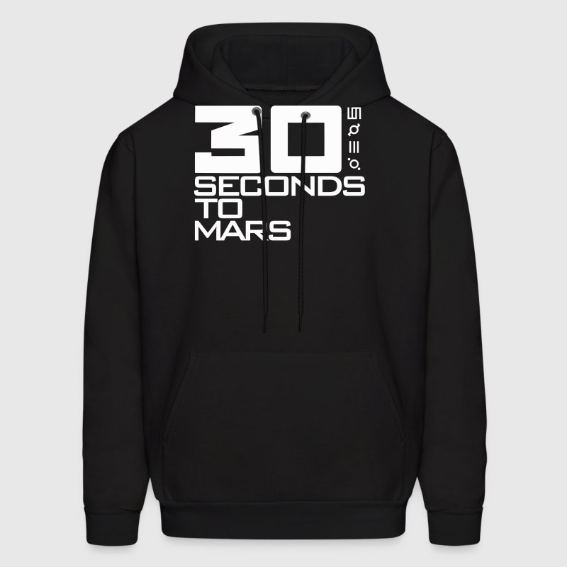 30 Seconds To Mars - Men's Hoodie