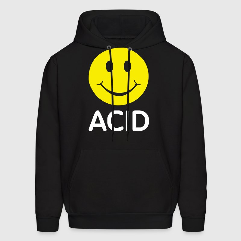 ACID HOUSE SMILEY - Men's Hoodie