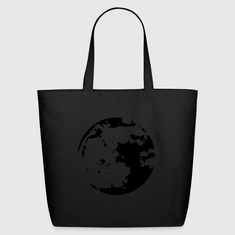 Moon Stencil Bags & backpacks - Eco-Friendly Cotton Tote