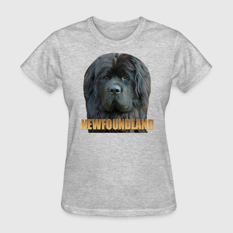 Newfoundland Dog T-Shirts - Women's T-Shirt
