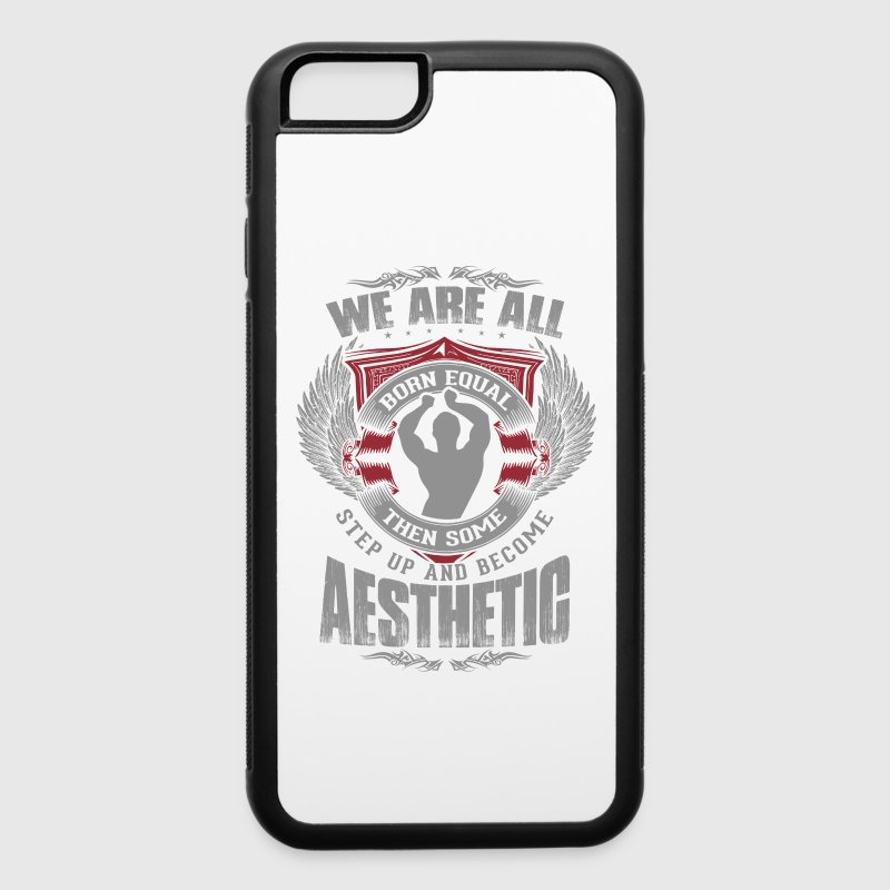Some People Step Up And Become Aesthetic Phone & Tablet Cases - iPhone 6/6s Rubber Case