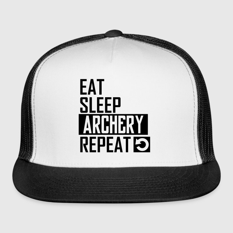 eat sleep archery Sportswear - Trucker Cap