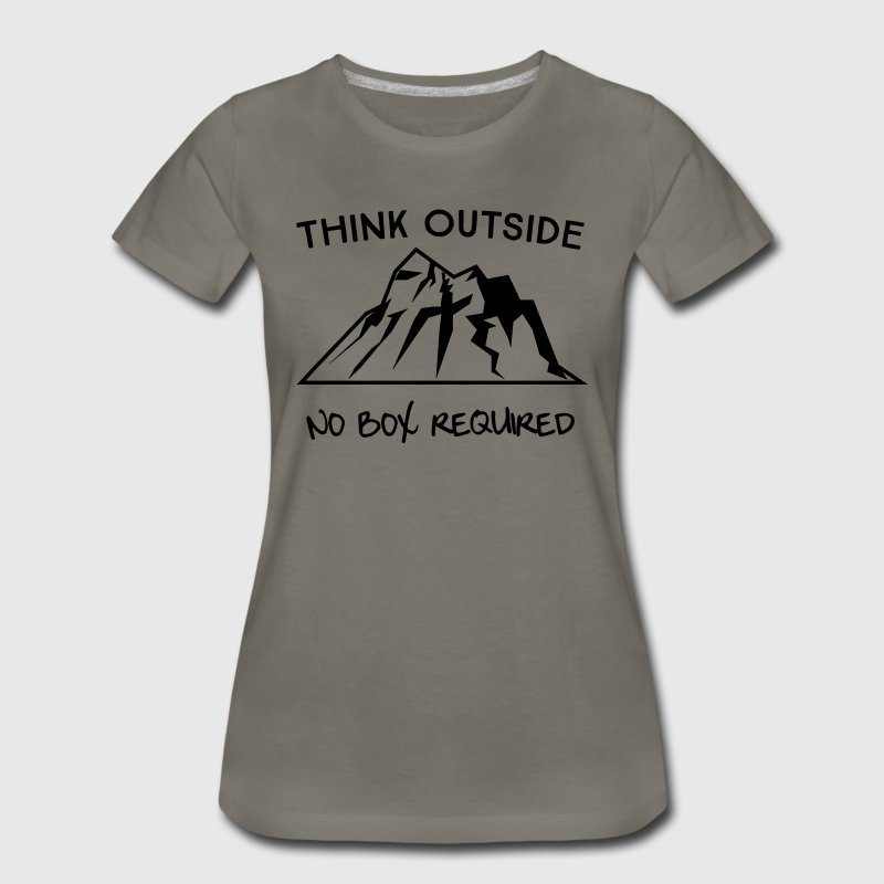 Think outside. No box required T-Shirts - Women's Premium T-Shirt