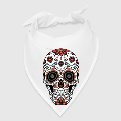 Sugar Skull - Day of the Buttons - Bandana