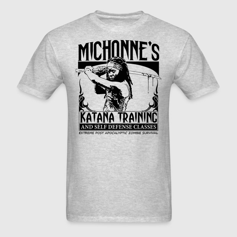 Michonne's Katana Training T-Shirts - Men's T-Shirt