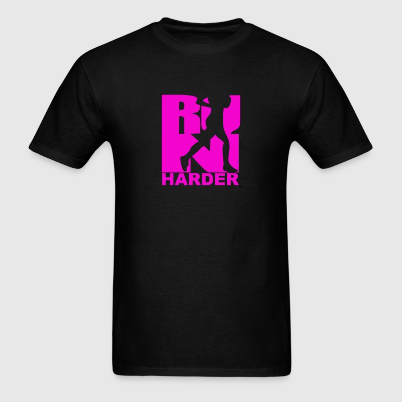 RUN Harder gym workout - Men's T-Shirt