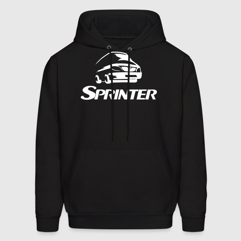 Sprinter Logo Mercedes-Benz - Men's Hoodie