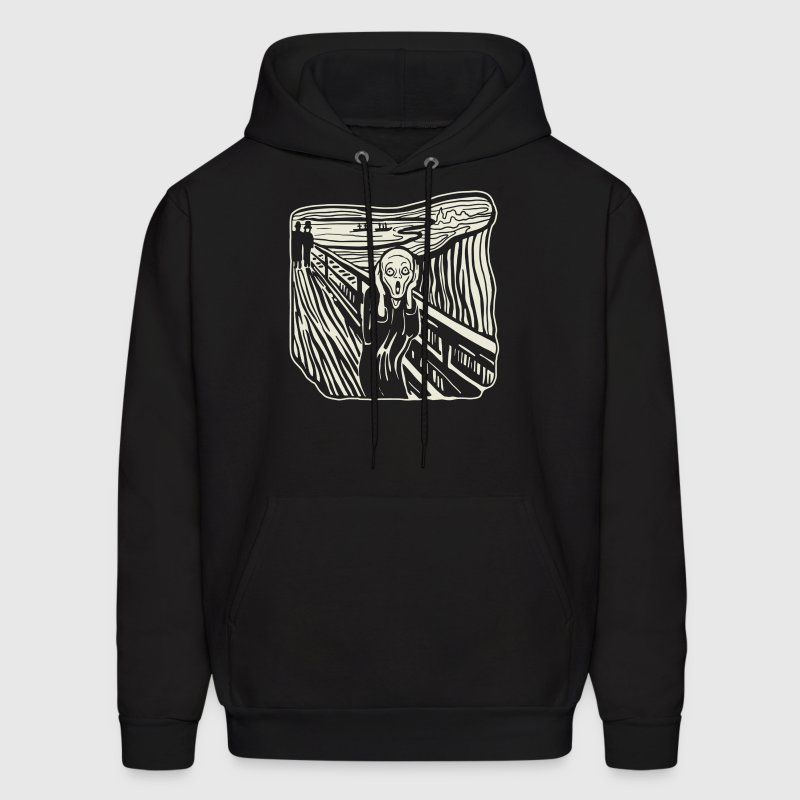 The Scream - Men's Hoodie