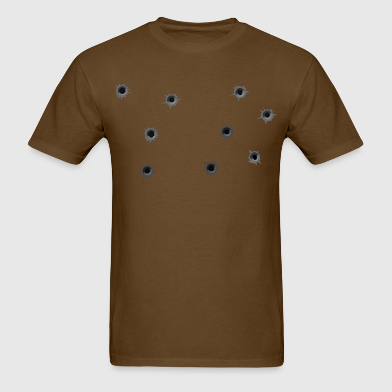 Luke Cage Bullet Holes Men's Tee - Men's T-Shirt
