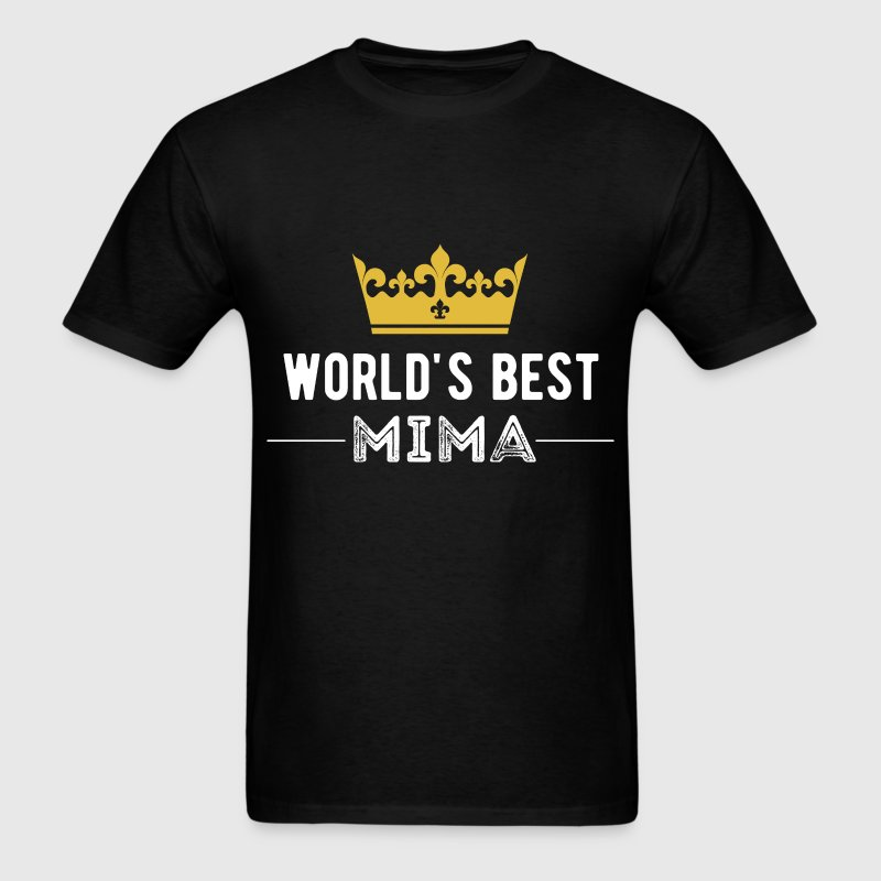 World's best Mima - Men's T-Shirt