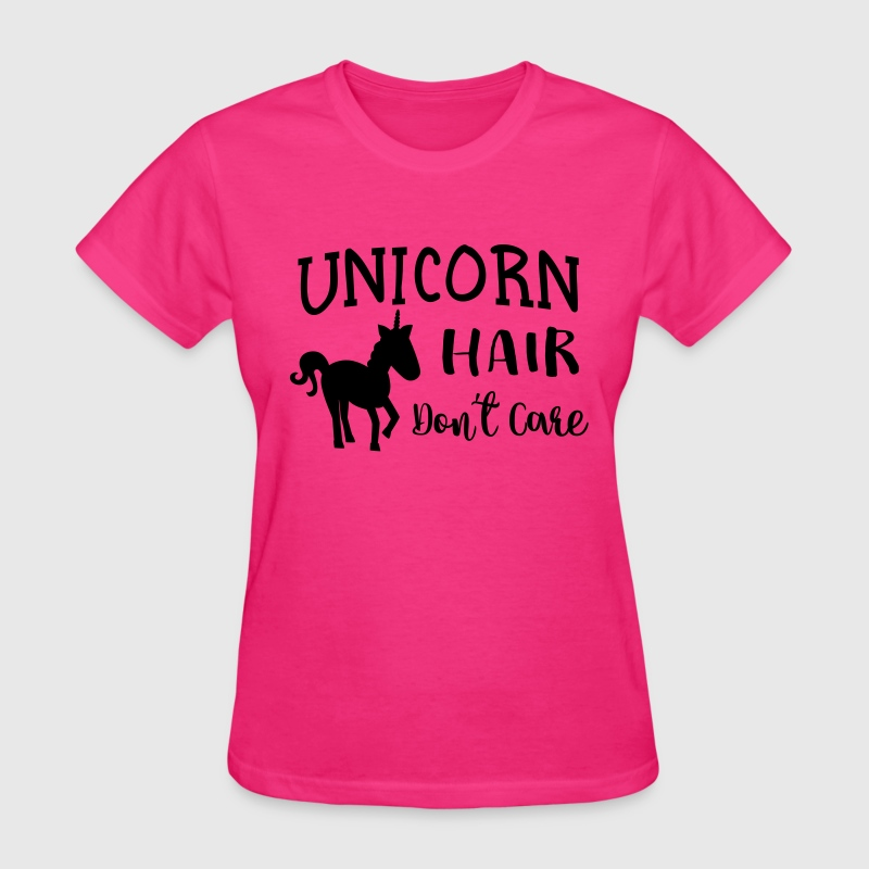 Unicorn hair don't care T-Shirts - Women's T-Shirt